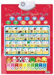 Arabic To English Alphabet Chart Edusonic Arabic English Alphabet Talking Charts For Kids Buy Talking Chart For Kids Product On Alibaba Com