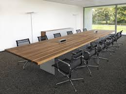 contemporary conference table wooden rectangular round tix