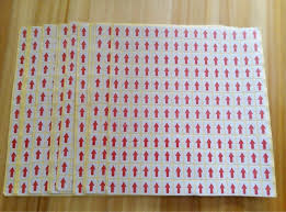 Red Checking 2019 Top Stock 9 13mm Red Arrow Qc Checking Paper Self Adhesive Label Sticker From Labelprinting89 8 3 Dhgate Com
