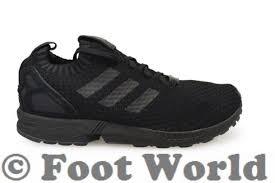 torsion adidas black. mens adidas zx flux pk - s75976 black trainers torsion