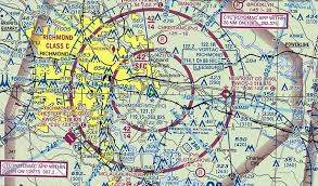 Virginia Aeronautical Chart Richmond International Airport Ric
