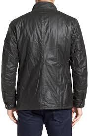 barbour duke regular fit waterproof waxed cotton jacket green