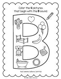 See this maze for d words. Lively Literacy Letter Sound Of The Week Phonics Worksheets B