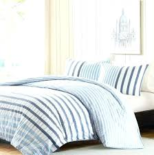 ticking stripe bed sheets photo 3 of 4 light blue and white striped bedding superb comforters