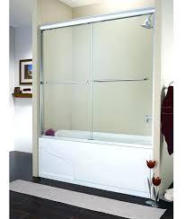 bathtub door installation 2 panel sliding bath tub door bathtub sliding doors installation cost