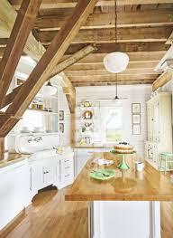 Super Cozy Barn House Kitchen Islands
