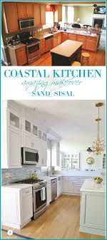 Coastal Kitchen Coastal Kitchen Makeover The Reveal
