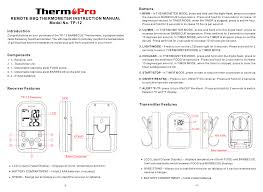 Tp 12 Wireless Meat Thermometer Set User Manual Shenzhen