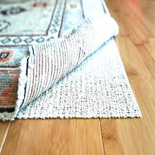 thick rug pad 8x10 natures grip non skid jute and natural rubber friendly furniture s in