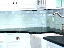 glass subway tile backsplash with accent blue wall mosaics grey stone mosaic bathroom gray