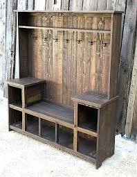 Coat Stand And Shoe Rack Coat And Shoe Cabinet Make Your Own Hall Tree Bench Within With Coat 45