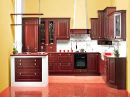 rustic red paint fence painted furniture kitchen cabinets
