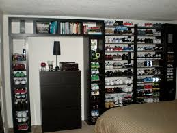 amazing of shoe holders for walls wall shelves design great giant shoe shelves for wall shoe