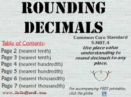 Promethean Flipchart Common Core Standard 5 Nbt 4 Rounding Decimals