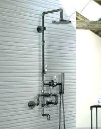 kohler outdoor shower shower fixtures home depot 2 handle 3 spray tub and shower faucet in kohler outdoor shower