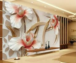 Small Picture Details about 3D Wallpaper Bedroom Mural Roll Modern Lily Flower