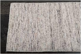 rugsville flatweave ivory black hand woven wool rug 60 x 90