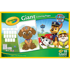 Small Picture Shop for the Crayola Paw Patrol Giant Coloring Pages at Michaels