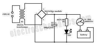 simple 12 volt charger circuit 12v charger