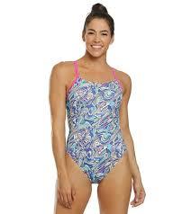 Waterpro Womens Puzzle One Piece Swimsuit