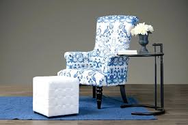 blue and white accent chair best navy blue accent chair ideas on dining regarding intended for