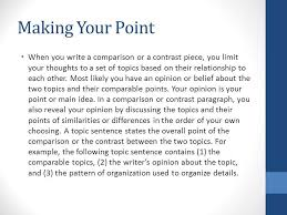 compare and contrast rhetorical analysis ppt video online 3 making