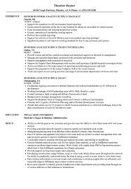 Business Analyst Supply Chain Resume Samples Velvet Jobs