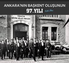 Milli mücadelemizin merkezi Ankara'nın Başkent oluşunun 97. yılı kutlu... -  T.C. Vagadugu Büyükelçiliği/Ambassade de Turquie à Ouagadougou | Facebook