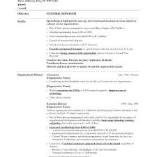 Sample Resume For Hotel Assistant General Manager Fresh Hotel ...