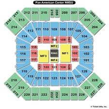 Pan Am Center Las Cruces Seating Chart 40 Paradigmatic Nmsu Pan American Center Seating