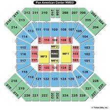 pan am center las cruces seating chart 40 paradigmatic nmsu pan american center seating