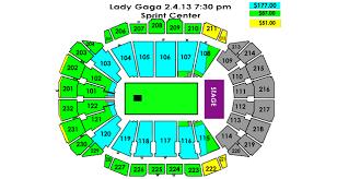Lady Gaga Sprint Center