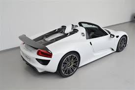 porsche 918 spyder white. 18 million porsche 918 spyder is looking for an owner in the netherlands this automobile will make his new very happy white