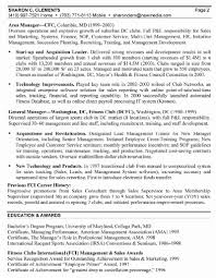 Club Manager Sample Resume Club Manager Sample Resume Awesome General Manager Resume General 2