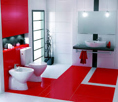 Dark Red Bathroom Best Red Bathrooms Ideas On Bathroom Design Ideas F 1709