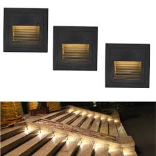 corner lighting. Waterproof Outdoor Led Stair Step Light 3w Recessed Wall Corner LED Footlight Night For Landscape Pathway Step-in Indoor Lamps From Lighting N