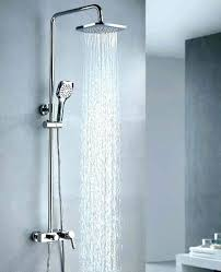 moen square shower head mariner 2 shower head with slide bar oil rubbed bronze brilliant regard