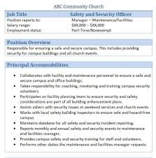 security officer duties and responsibilities security officer job description security officer job description