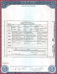 Certified Birth Certificate Texas 120725 A Blank Birth Certificate
