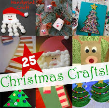 25 Easy Christmas Crafts For Kids To Make  Craft And HolidaysChristmas Toddler Craft Ideas