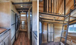 This huge \u0027tiny house\u0027 on wheels can fit a family of five ...