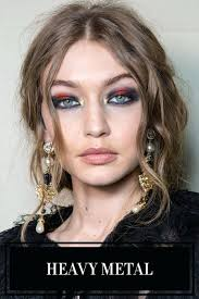 metal makeup fall there one color trending above others metal makeup