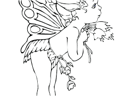 Evil Fairy Coloring Pages For Adults A Good Footage Crafts Amazing