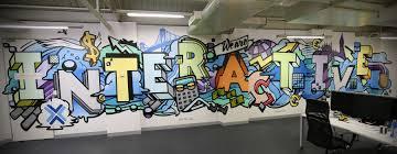 office graffiti wall. image office graffiti wall