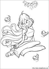 Winx Disegni Da Stampare E Colorare Bloom Blogmammait