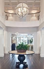 2 story foyer chandelier modern beautiful size or small entryway best