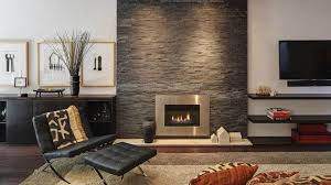 modern living room with brick fireplace. A Twist Of Old Brick Fireplaces In 15 Modern And Contemporary Living Rooms | Home Design Lover Room With Fireplace S