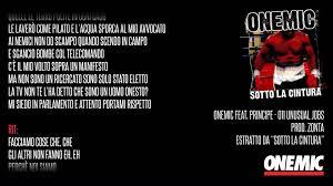 Onemic Feat Principe Sotto La Cintura 06 011 Unusual Jobs