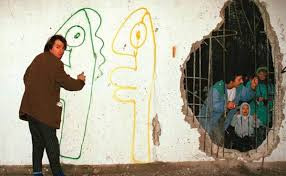 thierry noir and the berlin wall on famous berlin wall artists with famous street artists who worked in berlin