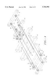 patent us wire rope tensioning and reeving system for patent drawing
